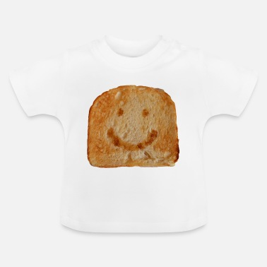 Cladding Toast funny slice of bread toast bread cladding - Baby T-Shirt