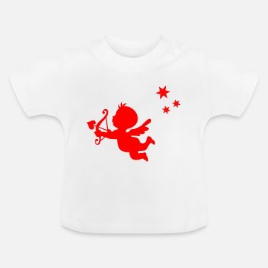 Cupid rode cupid - Baby T-shirt