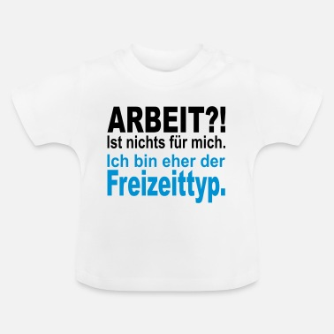 Fritid fritid typ - T-shirt baby