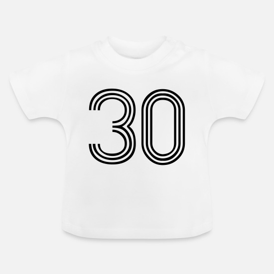 Race Baby Clothes - 30, best football, fußball, football, soccer, - Baby T-Shirt white