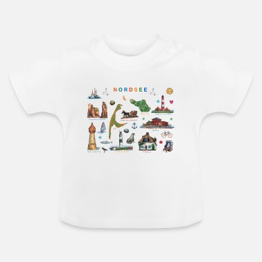North Sea North Sea - Baby T-Shirt