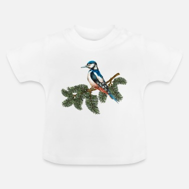 Fly Colorful bird - Baby T-Shirt