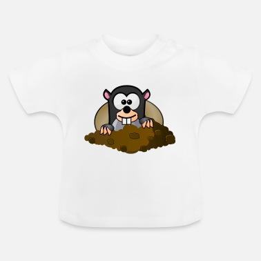 Tier Tier Tiere Maulwurf - Baby T-Shirt