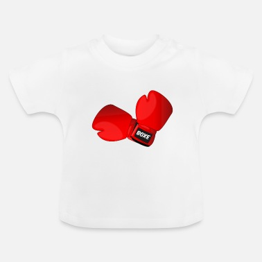 Boxing Gloves Red boxing gloves boxing gloves - Baby T-Shirt