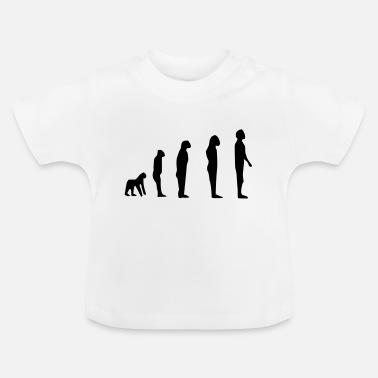 Darwin darwin evolution - T-shirt baby