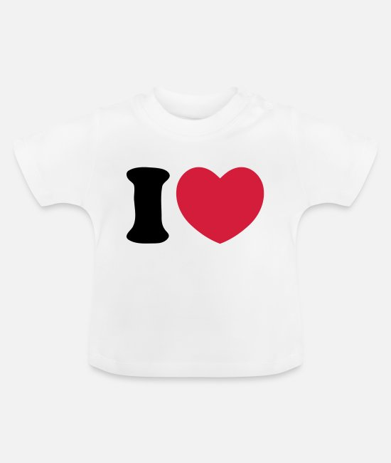 Corazon T-shirts Bébé - Heart Love - T-shirt Bébé blanc