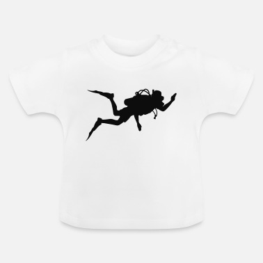 Diver Happy diver - Baby T-Shirt