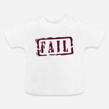 Writing fail writing - Baby T-Shirt
