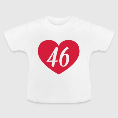 46th birthday heart Shirts - Baby T-Shirt