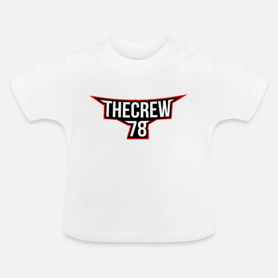 Shield Baby Clothes - The Crew 78 - Baby T-Shirt white