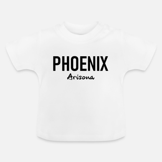 Heat Baby Clothes - Phoenix - Arizona - United States - United States - US - Baby T-Shirt white