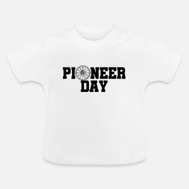 Bliss Pioneer Day - siden 1847 - USA - USA - Baby T-skjorte