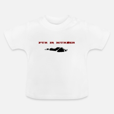 Bont Bont is moord - Baby T-shirt