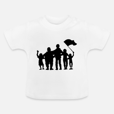 Fan fussballfans - fan - fans - Baby T-Shirt