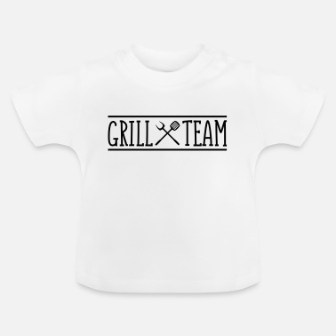 Team grill team - Baby T-Shirt