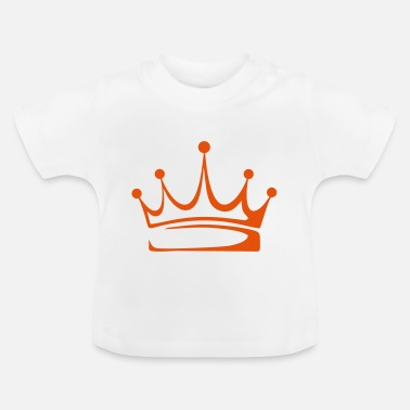 Crown to print on for hoodie, t-shirt, bag - Baby T-Shirt