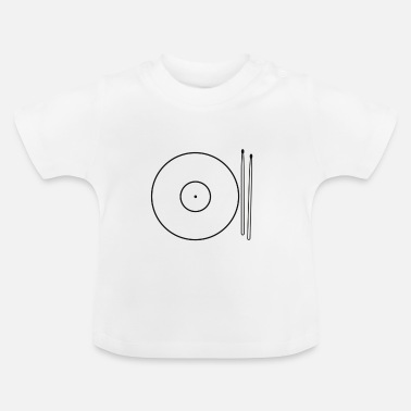Drums Cymbals Food - Baby T-Shirt