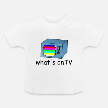 Tv TV-tv met storing - Baby T-shirt