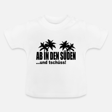 Syd fra syd - Baby T-shirt