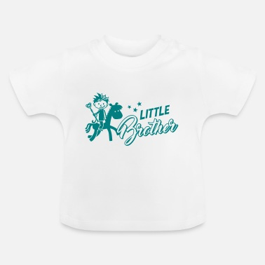 Lillebror Lillebror - storebror - syskon - baby - T-shirt baby