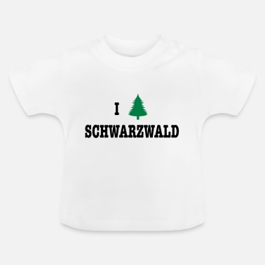 I Love Germany I Love Schwarzwald - Germany - Camiseta bebé