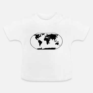 Map World Map - Baby T-Shirt