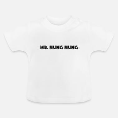 T-shirt Bébé Collier Dollar Bling Bling