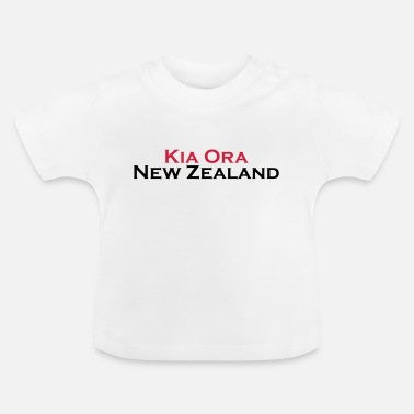 Kia Ora New Zealand - Baby T-Shirt