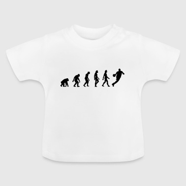 Evolution Basketball The Evolution of Basketball - Baby T-Shirt