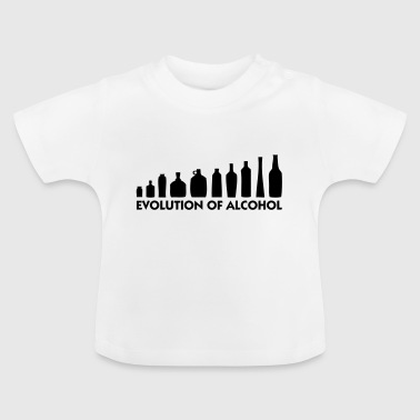 Books Evolution The Evolution of Alcohol - Baby T-Shirt