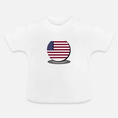 United United States flag - Baby T-Shirt