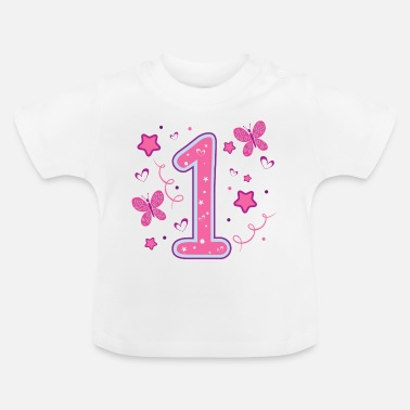 Birthday first 1st birthday a year girl gift - Baby T-Shirt