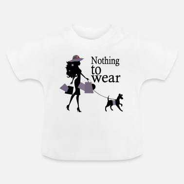 Wear nothing to wear-nothing to wear - Baby T-Shirt