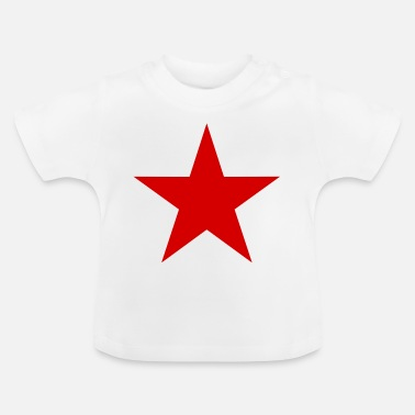 Roter Stern Stern rot,roter Stern - Baby T-Shirt