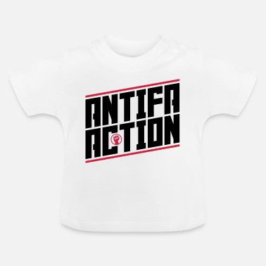 Antifa Antifa action - Baby T-Shirt
