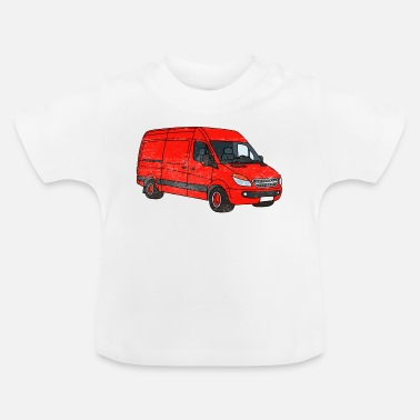 Streaker Van Art Car Graphic - Baby T-Shirt