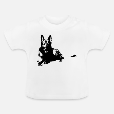 Dog Sports Shepherd dog dog dog sports, - Baby T-Shirt