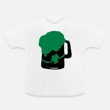 Green Beer shamrock green beer - Baby T-Shirt