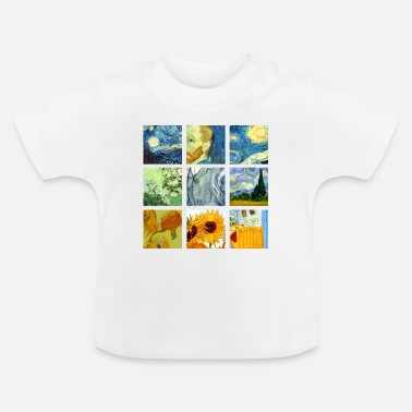 Graphic Art Van Art Gogh Graphic - T-shirt baby