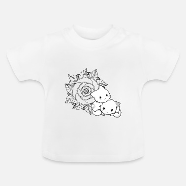 Animo Moe cat - Baby T-Shirt