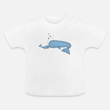 Baby Lille hval - Baby T-shirt
