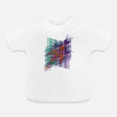 Psichedelico hyperspace4 - Baby T-Shirt