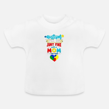 Day Autism Autist Autism Awareness Day Asperger - Baby-T-shirt