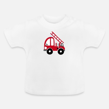 Brandvæsen Fire Truck Kids Gift Guys Cool - Baby T-shirt
