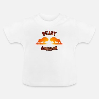 Whisky Cola Beast Bourbon Whisky Cola Whiskey Festival Saufen - Baby T-Shirt