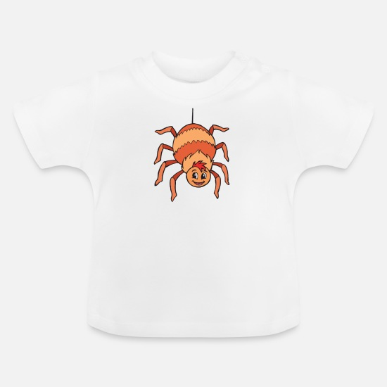 Spin Baby Clothes - spider - Baby T-Shirt white