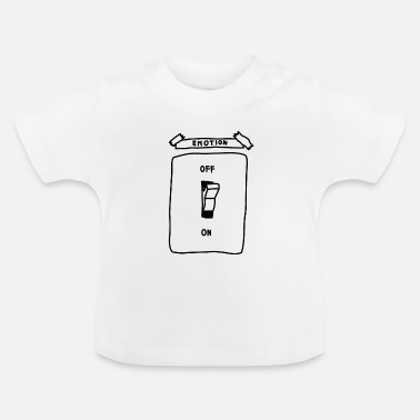 emotion on off / an aus - Baby T-Shirt