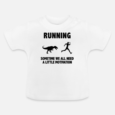 Maratón Run Run Running Motivation Shirt & Gift - Camiseta bebé