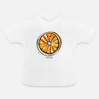 Fruit Orange Fruit Fruit Fruit - Baby T-Shirt