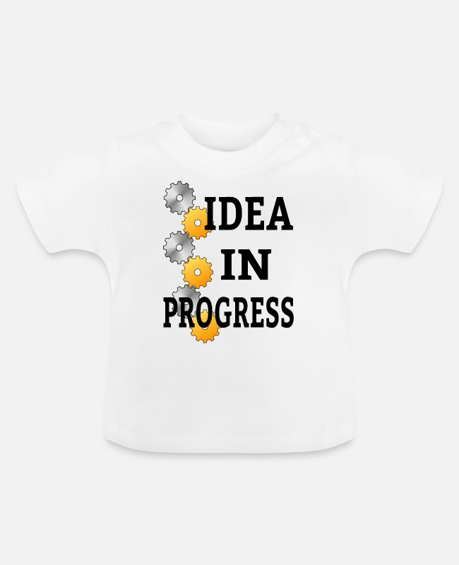 English Baby T-Shirts - Cool saying - Baby T-Shirt white